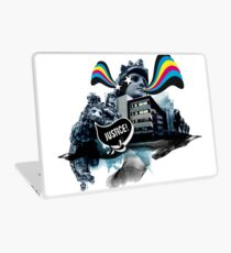 The lion who claimed for justice Laptop Skin