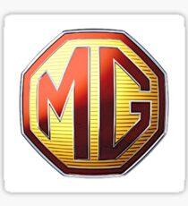 Mg Logo 2 Sticker