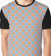 Sunset Circles Graphic T-Shirt