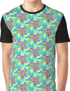 Spots and Curves - Mermaid Graphic T-Shirt