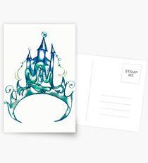 Abstract Tiara Postcards