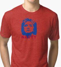 Hill Nasty Woman Tri-blend T-Shirt