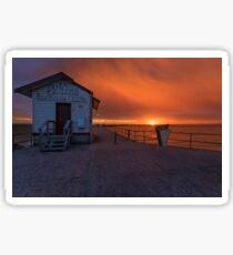 Sunrise at Sirens Sticker