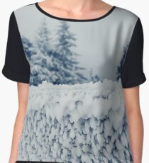 fence frost Women's Chiffon Top