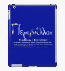 GREEK ENVIRONMENT iPad Case/Skin