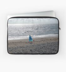 Windblown Lady Laptop Sleeve