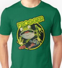 Frogger Unisex T-shirt - Choice of Colours - S to 3XL