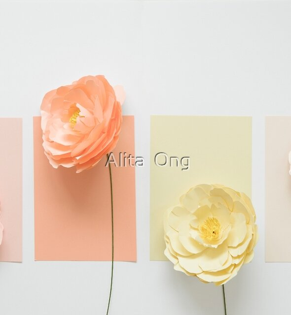 All shades of peonies I by Alita  Ong