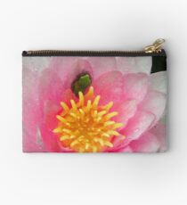 Froglet in a Blossom Studio Pouch