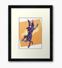 Yu-Gi-Oh! Mahado the Dark Magician Framed Print