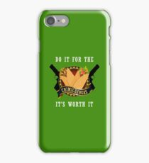Do It For The Chimichangas Mexico Food Funny Design iPhone Case/Skin