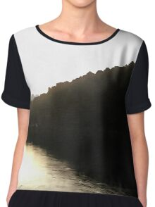 Shores Of Darkness Women's Chiffon Top