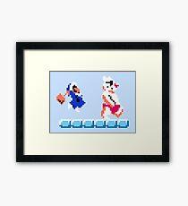 Ice Climber Framed Print