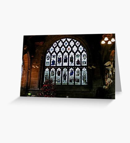 Chester Cathedral Refectory  Greeting Card