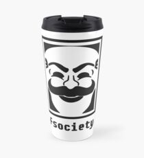 F society - Mr. Robot Travel Mug