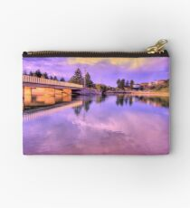 Reflections In Lavender - Narrabeen Lakes - The HDR Series Studio Pouch