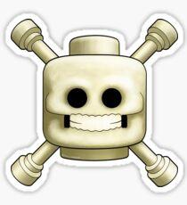 Lego Skull and Crossbones Sticker