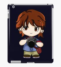 cute photographers  iPad Case/Skin