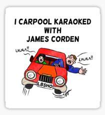 Carpool Karaoke Sticker