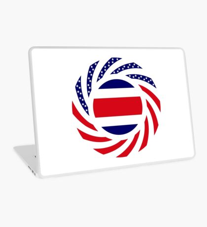 Costa Rican American Multinational Patriot Flag Series Laptop Skin