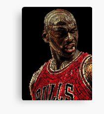 The GOAT Michael Jordan Canvas Print