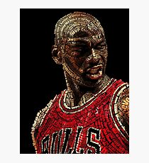 The GOAT Michael Jordan Photographic Print