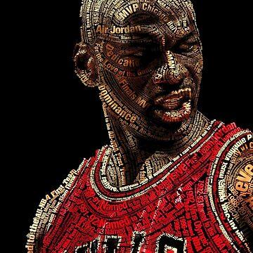 The GOAT Michael Jordan by 23jd45