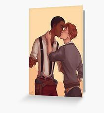 Wylan and Jesper Greeting Card