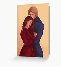 Tarjeta de felicitación Nina y Matthias