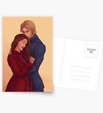 Nina and Matthias Postcards