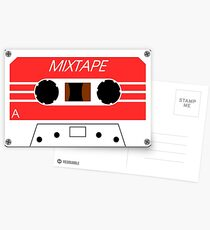 Mixtape Cassette Tape by Chillee Wilson Postcards