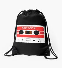 Mixtape Cassette Tape by Chillee Wilson Drawstring Bag