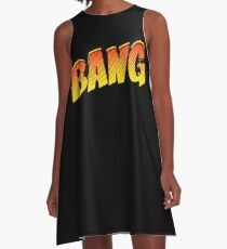 Cartoon Bang by Chillee Wilson A-Line Dress