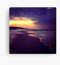 Walking on the dream Canvas Print