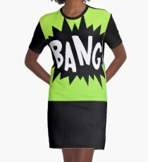 Cartoon Bang by Chillee Wilson Graphic T-Shirt Dress