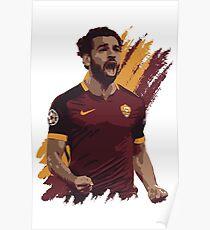 Mohamed Salah - A.S. Roma Poster
