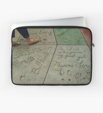 Time in Cement Laptop Sleeve