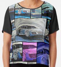 Blusa Supersportswagon Audi R8 - Collage - Sportwagen - Auto - Automobil