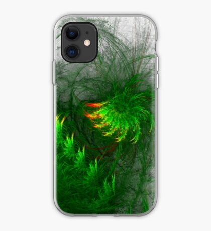 Jungle #fractal art iPhone Case