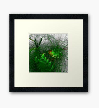 Jungle #fractal art Framed Print