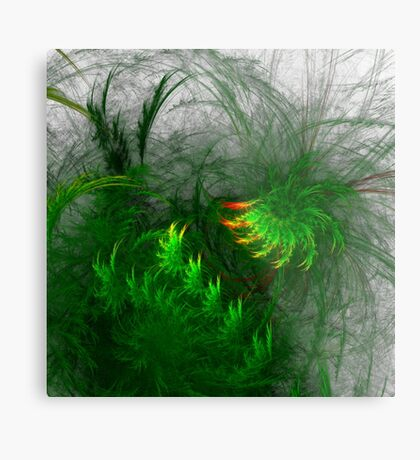 Jungle #fractal art Metal Print