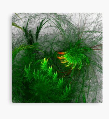 Jungle #fractal art Canvas Print
