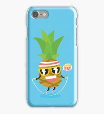 Burn fat pineapple iPhone Case/Skin