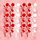 Layered Floral Silhouette Print (2 of 8 please see description) by Ra12