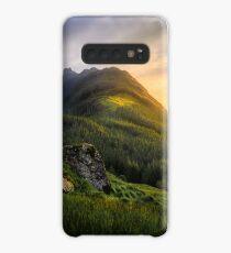 Mountain Sunset Case/Skin for Samsung Galaxy