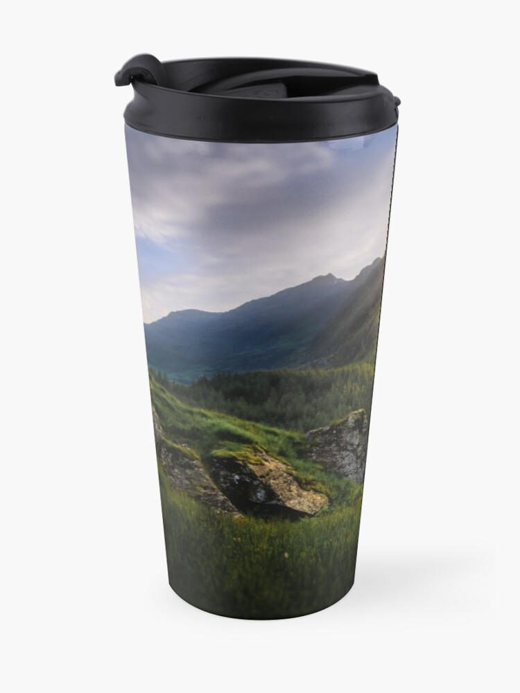 Alternate view of Mountain Sunset Travel Mug