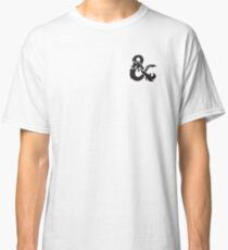 dungeons and dragon logo dnd Classic T-Shirt
