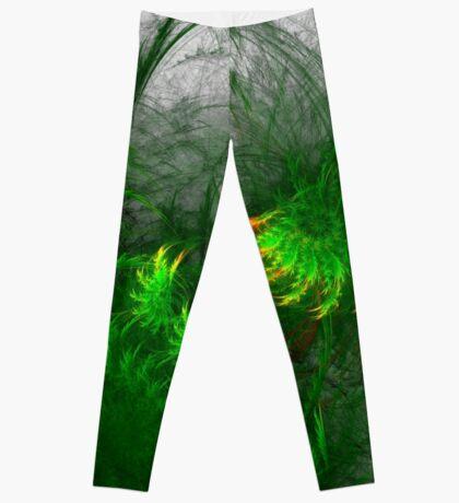 Jungle #fractal art Leggings