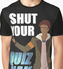 Shut your Quiznak, voltron inspired print Graphic T-Shirt