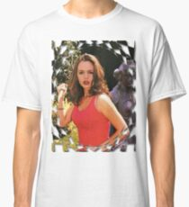 Buffy Angel Faith Eliza Dushku Classic T-Shirt